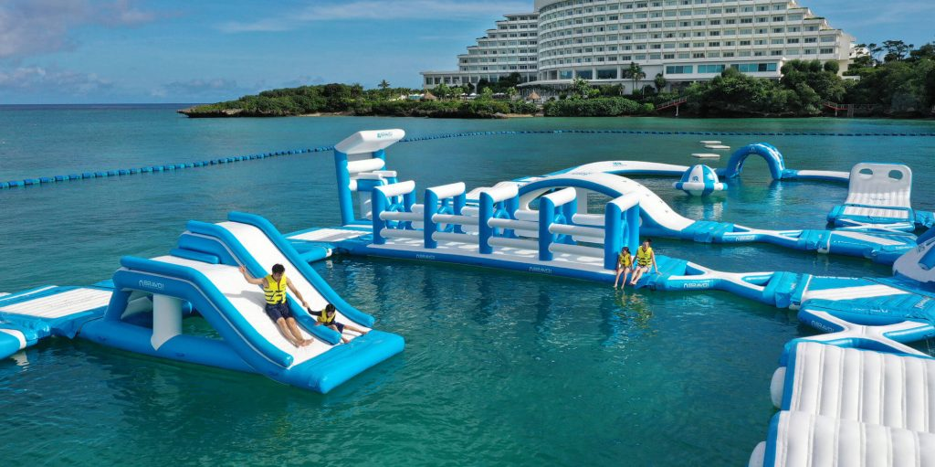 Manza Ocean Park®|One of the largest inflatable water park in Japan