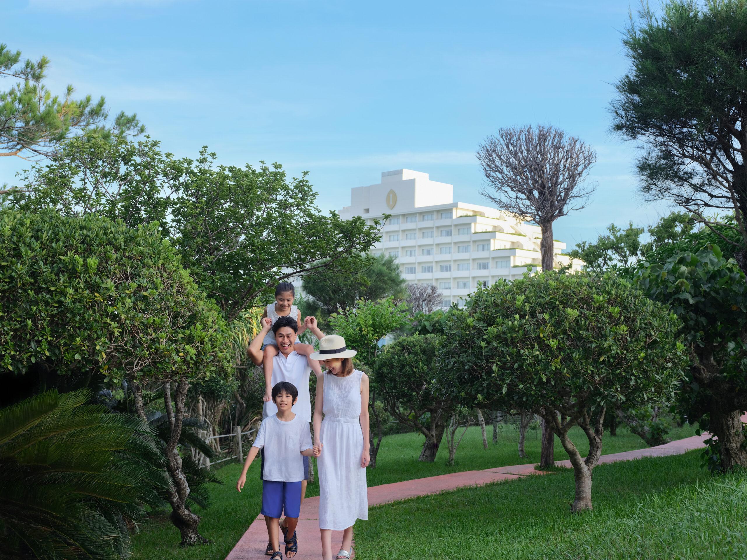 Family at Garden